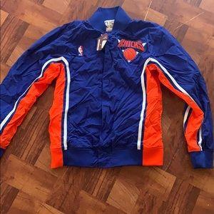 Mitchell & Ness New York Knick's Warm Up Jacket